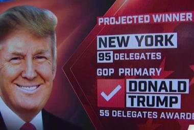NBC News: Trump wins NY GOP primary