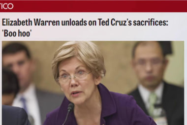 Can Cruz benefit from Elizabeth Warren's...
