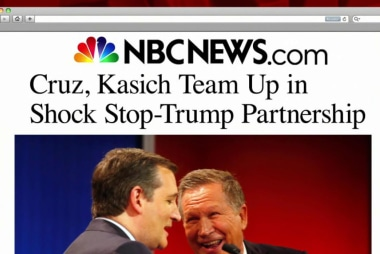 Too late? Cruz, Kasich team up against Trump