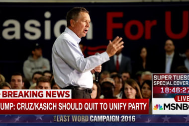 Trump: Cruz and Kasich should drop out