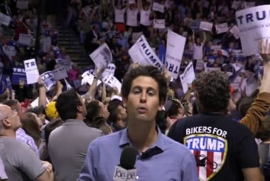 The sights and sounds of Trump's Pa. rally