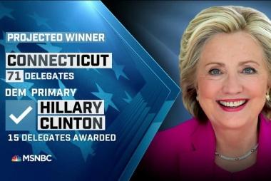NBC: Clinton wins CT Dem. primary