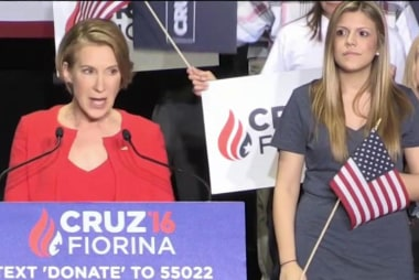 Carly Fiorina to fight for GOP's 'soul'