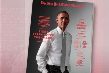 Obama weighs in on his economic legacy