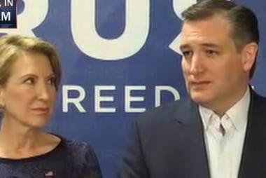 Cruz on Fiorina being a 'desperate' pick