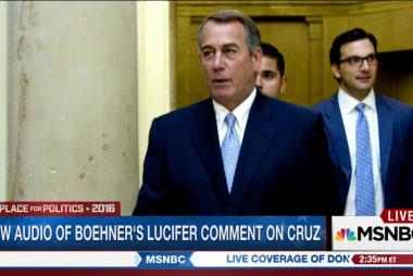 Audio of Boehner's 'Lucifer' comment