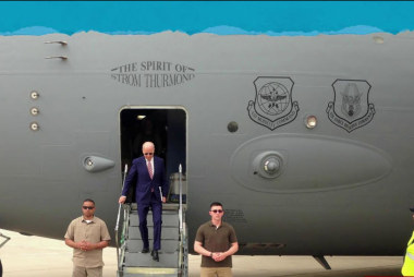 Biden in Iraq amid higher US troop presence