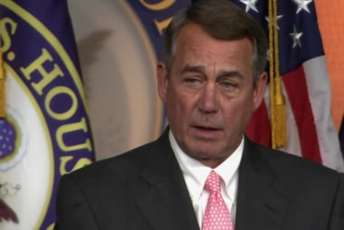 Boehner: Cruz will win 'over my dead body'