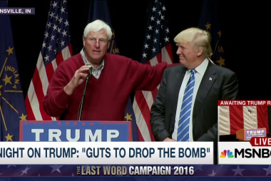 Knight: Trump has guts to drop the bomb