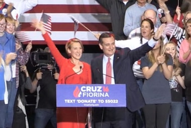 Cruz tries to change trajectory of the race
