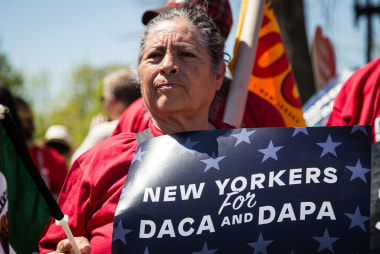 Immigrant families take fight to high court