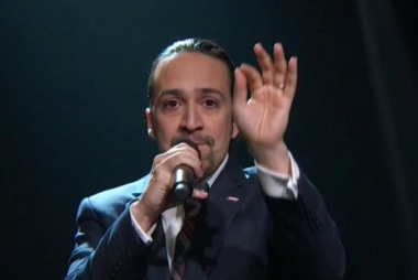'Hamilton' star pushes for action on...