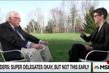 Sanders: Superdelegates have too much power