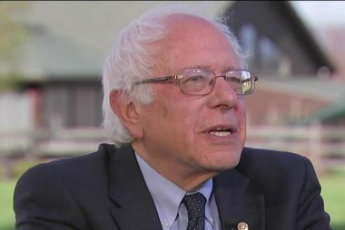 Sanders: Trump already hurting US world image