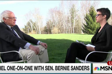 Sanders: Climate change is today's top issue