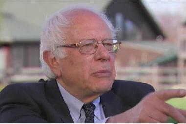 Sanders cites MLK, Eugene Debs among heroes