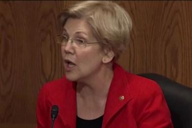 Warren voices disdain for Donald Trump