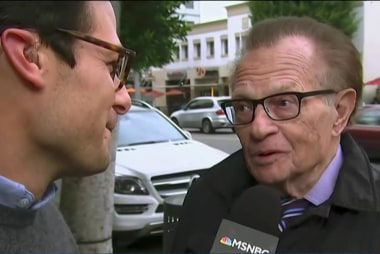 Here are Larry King's thoughts on Trump