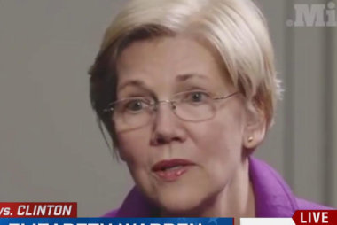 Sen. Warren on VP talk: 'I love my job'