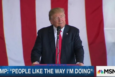 Trump: 'I have a mandate from the people'
