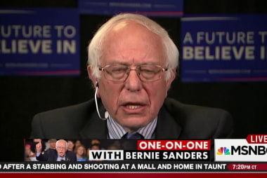 One-on-one with Bernie Sanders