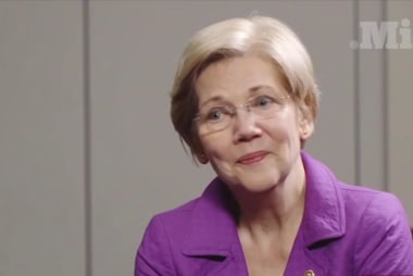 Warren beats Trump at his own game