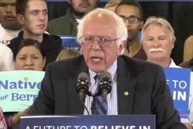 Dem machine works against determined Sanders