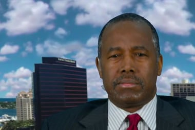 Carson: 'Trump is not a politician'