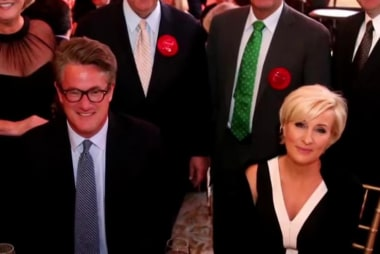 Joe and Mika inducted into the Cable Hall...