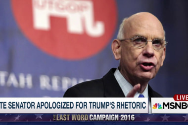 Trump spurs GOP Sen's deathbed apology