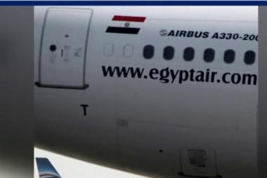 Smoke indicated on Egypt plane before crash