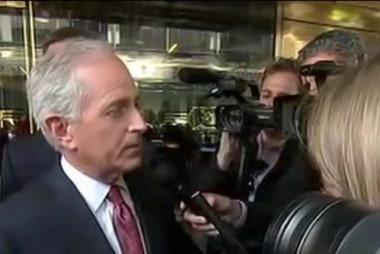 Sen. Corker comments on Trump meeting