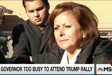 NM governor 'too busy' for Donald Trump