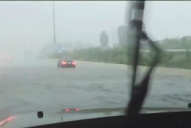 Flash flooding swamps Texas