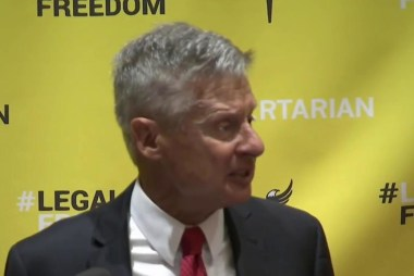 Libertarian party selects their nominee