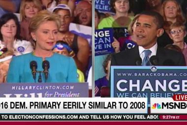 Sanders' struggle has echoes of Clinton 2008