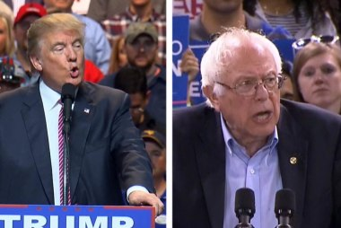 Who benefits most from Sanders-Trump debate?