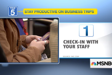 5 ways to work on a business trip