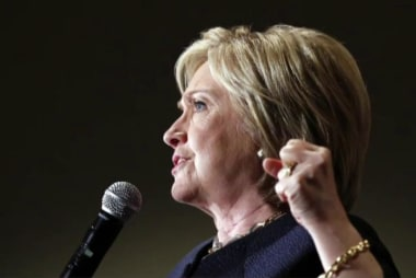 Clinton defends record of giving interviews