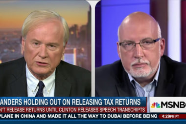 Why won't Sanders release tax returns?