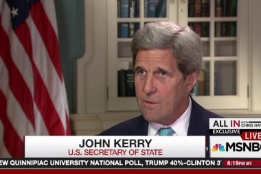One-on-one with John Kerry