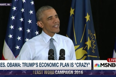 Obama: Trump's economic plan is 'crazy'