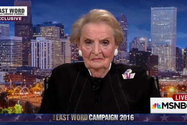 Exclusive: Albright on Trump foreign policy