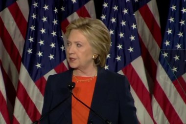 Grading Clinton's speech against Trump