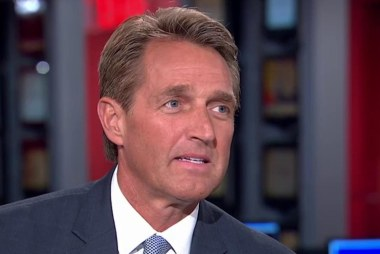 Sen. Flake: Trump has reached a new level