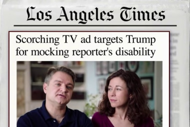 Parents of disabled child blast Trump in ad