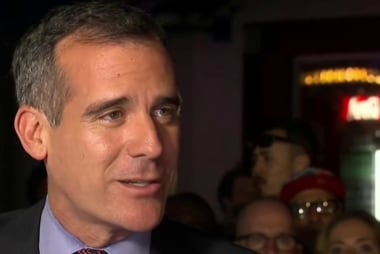 LA Mayor: 'I'm excited' about Clinton nom