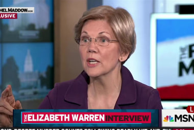 Warren: 'I'm ready to get in this fight'