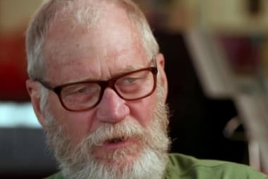 Letterman: I couldn't care less about late...