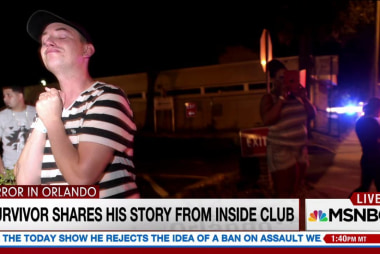 Survivor shares story from inside club